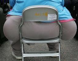 fat ass in chair