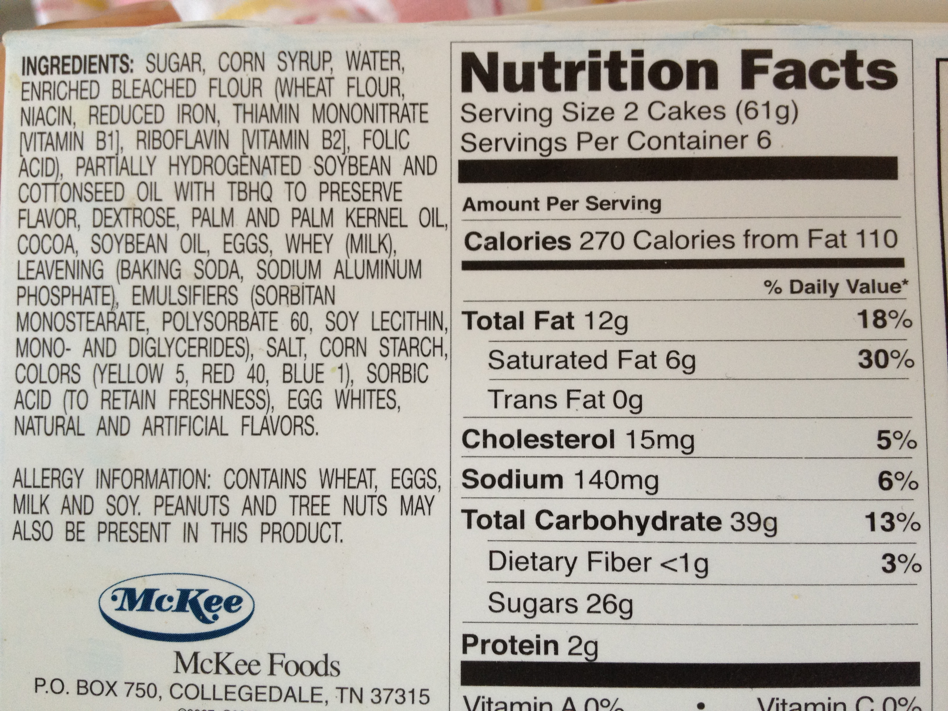 Ingredients Are Listed On A Food Label