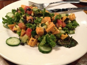 sweetPotblackbean salad