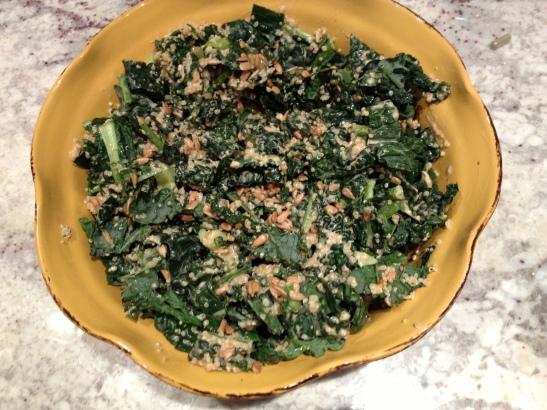 kale and quinoa celerey