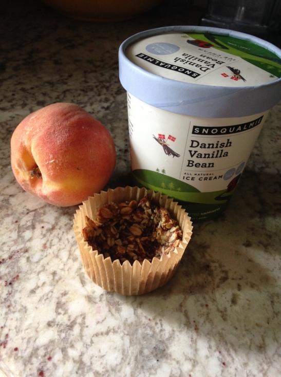 peach crumble ingredients