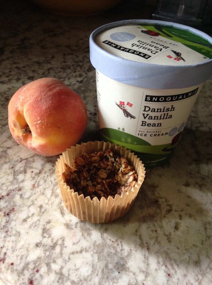 peach crumble ingredients