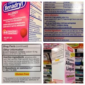 benadryl combo